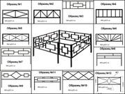 Оградки ритуальные в Орле