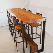 Мебель в стиле лофт для баров,  кафе,  ресторанов.